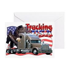 Trucking5 Greeting Card