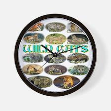 wildcats Wall Clock