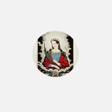 St. Philomena - 1845 Mini Button (10 pack)