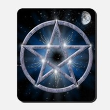 poster pentagram Mousepad