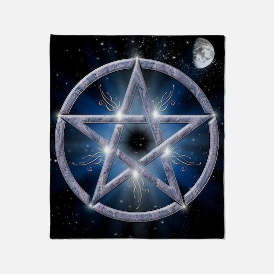 poster pentagram Throw Blanket