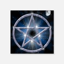 "poster pentagram Square Sticker 3"" x 3"""