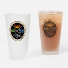 pagan-elements-holidays-inverted Drinking Glass