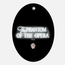 The Phantom of the Opera 1925 Oval Ornament