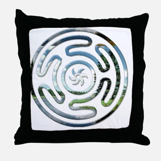 Hecates Wheel11 Throw Pillow