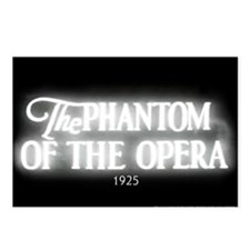 The Phantom of the Opera 1925 Postcards (8)