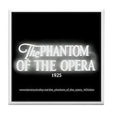 The Phantom of the Opera 1925 Tile Coaster