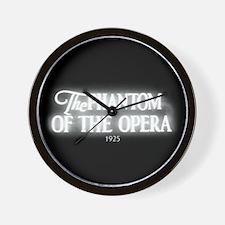The Phantom of the Opera 1925 Wall Clock