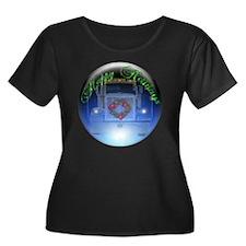 Ornament Women's Plus Size Dark Scoop Neck T-Shirt