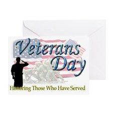 veterans 2 Greeting Card