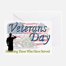 veterans 2 Greeting Card