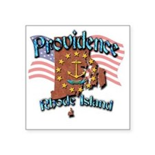 "Providence Square Sticker 3"" x 3"""