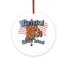 Bristol Round Ornament