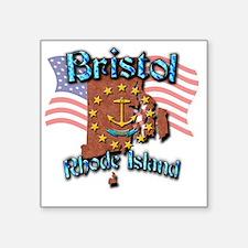 """Bristol Square Sticker 3"""" x 3"""""""