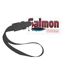 Salmon Luggage Tag