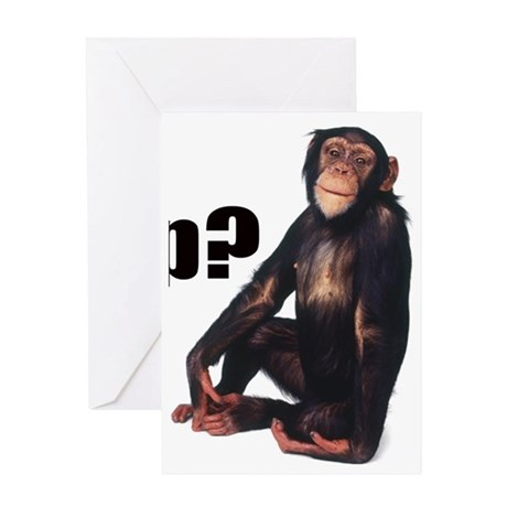 gotchimp Greeting Card