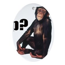 gotchimp Oval Ornament