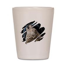 Seethru-wolf Shot Glass