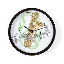 BaritoneSaxophone Wall Clock