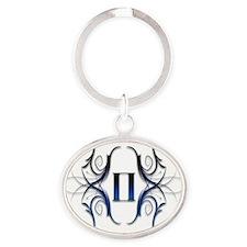 7-6 Oval Keychain