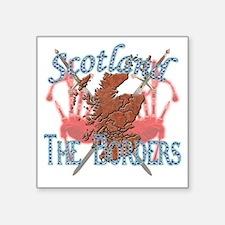 """2-The Borders Square Sticker 3"""" x 3"""""""