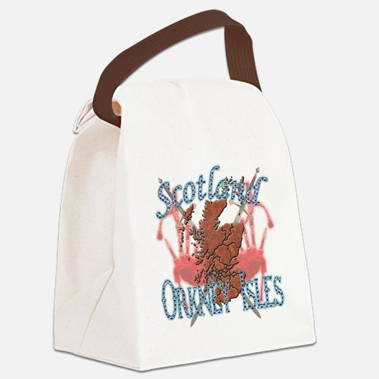 Orkney Isles Canvas Lunch Bag