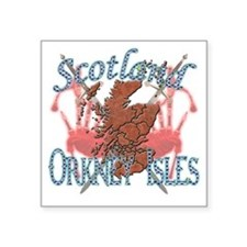 """Orkney Isles Square Sticker 3"""" x 3"""""""