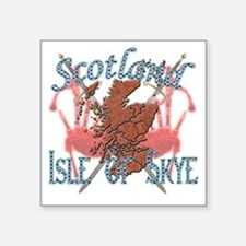 "2-Isle of Skye Square Sticker 3"" x 3"""