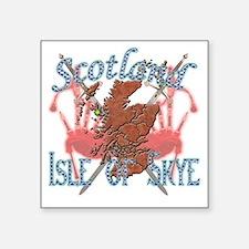 "2-Isle of Skye Square Sticker 3"" x 3"""