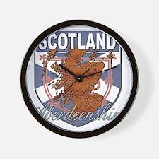 Aberdeenshire Wall Clock