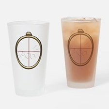 Fox Hunt inverted Drinking Glass