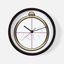 Fox Hunt inverted Wall Clock