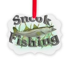 snook fishing Ornament