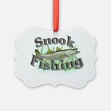snook fishing Ornament