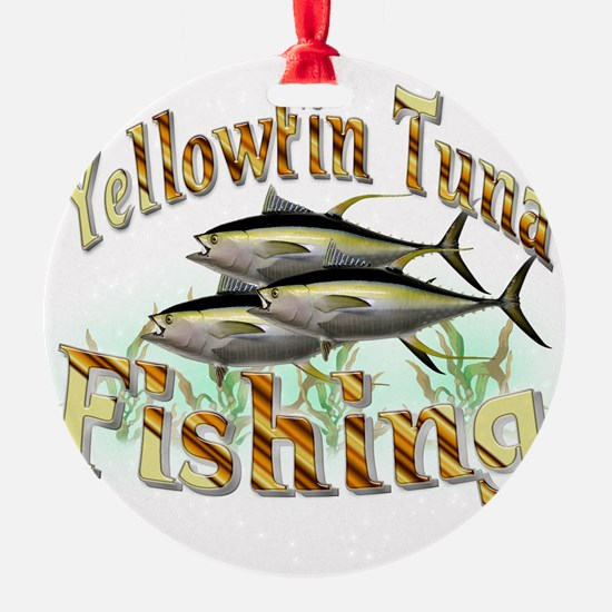 Yellowfin Tuna Ornament