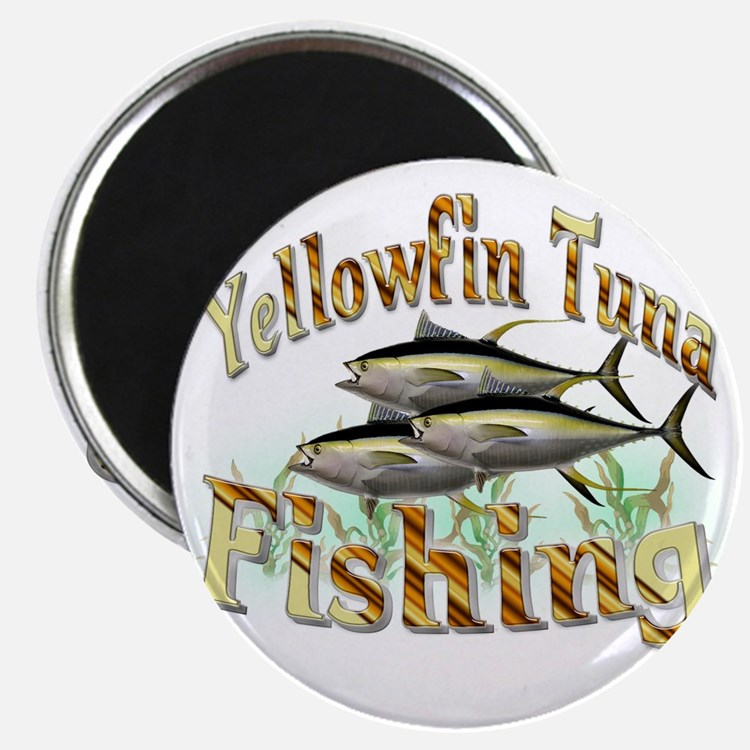 Yellowfin Tuna Magnet