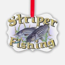 striper fishing Ornament