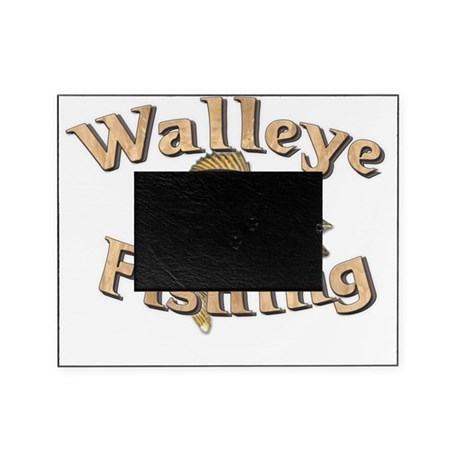 Walleye fishing picture frame by admin cp6206939 for Fishing picture frame