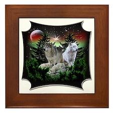 northernwolves Framed Tile