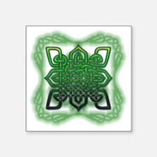 "celtic Square Sticker 3"" x 3"""
