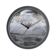 ghostship Wall Clock