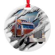 trucking Ornament
