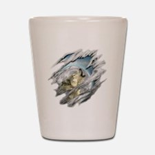 wolf Shot Glass