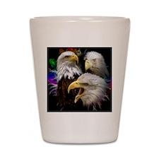 2-eagles Shot Glass