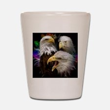 2-eagles Shot Glass