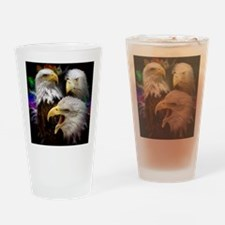 2-eagles Drinking Glass