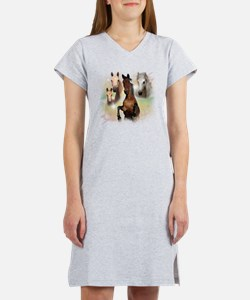 Horses Women's Nightshirt
