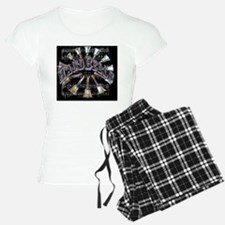 2-handbells black mousepad Pajamas
