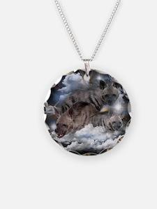 striped hyenas Necklace