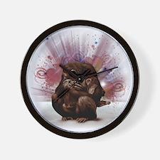 chimp love Wall Clock